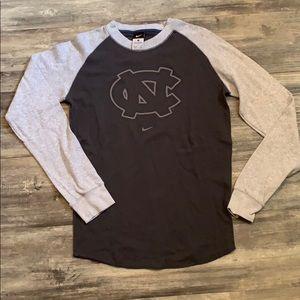 Men's Nike North Carolina thermal longsleeve sz S